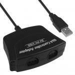 Adaptador Convertidor Mayflash Dual N64 Nintendo 64 A Pc Usb