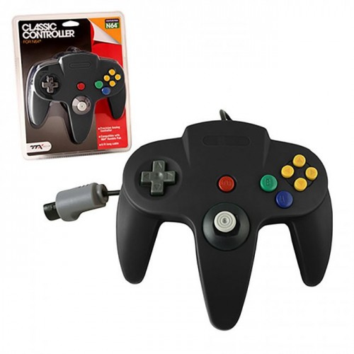 Control N64 TTX Negro para Nintendo 64 Accesorios