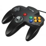 Control Clasico Nintendo 64 Usb PC y Mac Negro Original Retrolink