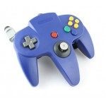 Control N64 TTX Azul para Nintendo 64