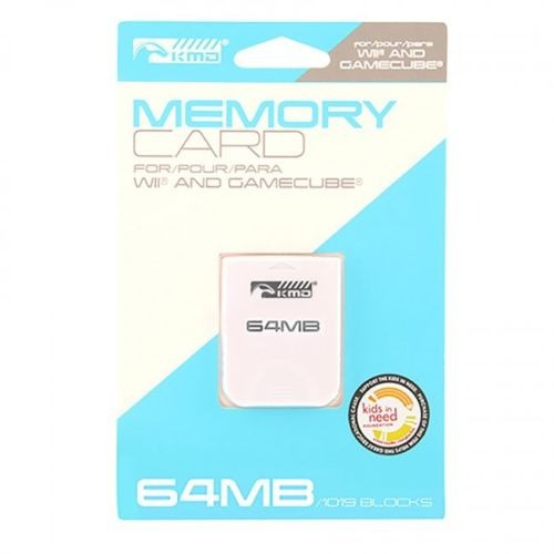 1 Memory Card 64 Mb Para Gc Wii 1019 Kmd
