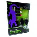 Cable Av Video Super Nintendo Gamecube Snes N64 Original Kmd