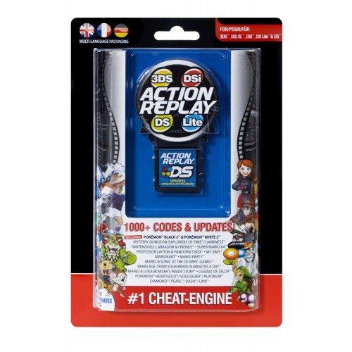 Action Replay 3ds Dsi Dsl Cartucho Accesorios