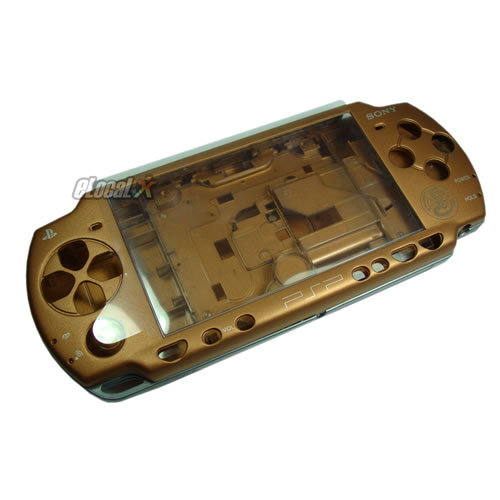 Carcasa Brown Dragon Completa PSP Slim Tunning