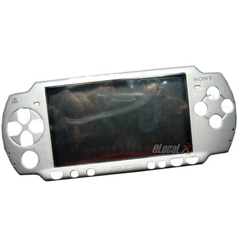 Carcasa Silver Completa PSP Slim Tunning
