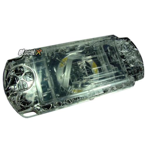 Carcasa Cristalina Completa PSP Slim Tunning