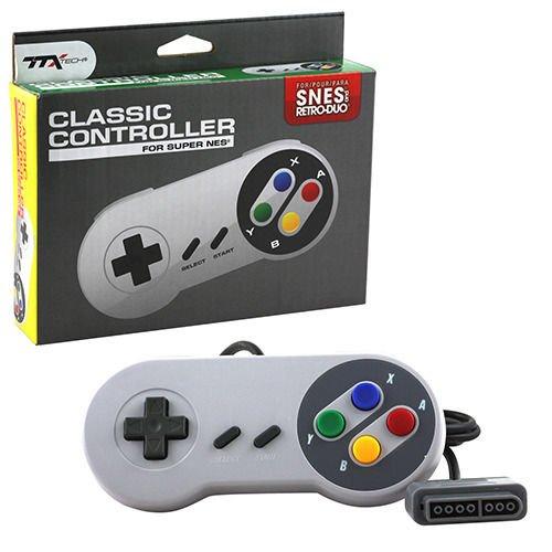 Control Alambrico Super Nintendo Snes Original Ttx Tech