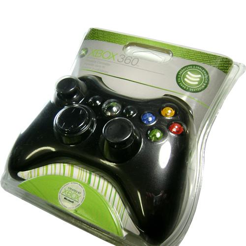 Control Xbox 360 Inalambrico (Negro) Accesorios