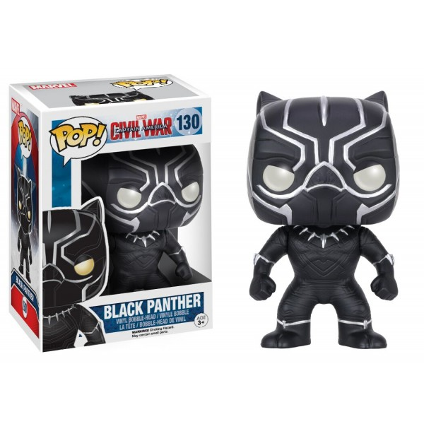 Black Panther Civil War Marvel N 176 130 Funko Pop