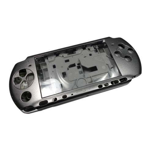 Carcasa plateada  PSP  3000 Tunning