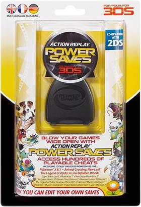 Action Replay por Power Saves en 3DS